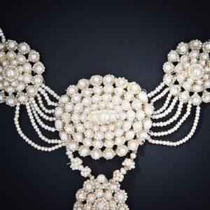 Seed Pearl Necklace.