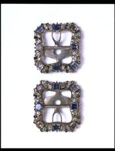 Diamond and Sapphire Shoe Buckles c.1800.