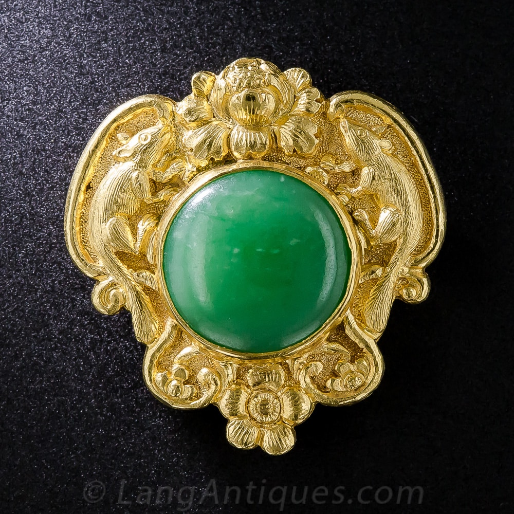Shreve and Co Jadeite Brooch.jpg