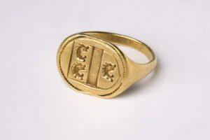 Heraldic Signet Ring c.1600-1650, London