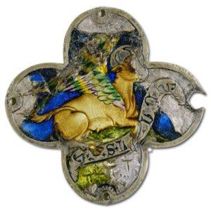 Medallion with the Bull of St. Luke.