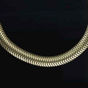 Articulated Snake Bracelet.