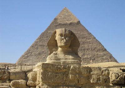 Possibly the Most Famous Sphinx is The Great Sphinx of Giza.