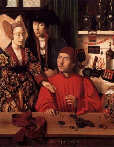 St_Eligius_in_his_Workshop_by_Petrus_Christus_1449_b