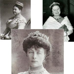The Teck Crescent Tiara
