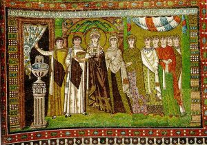 Theodora Mosaic, Ravenna.