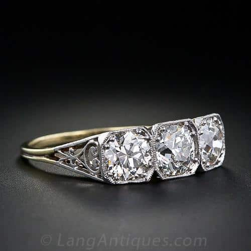 Threes Stone Diamond Engagement RIng.jpg