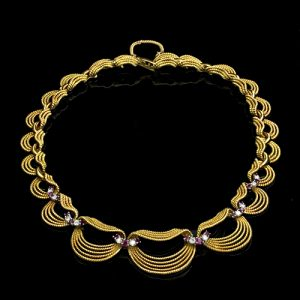 Tiffany & Co. Gold Necklace, c.1950s.