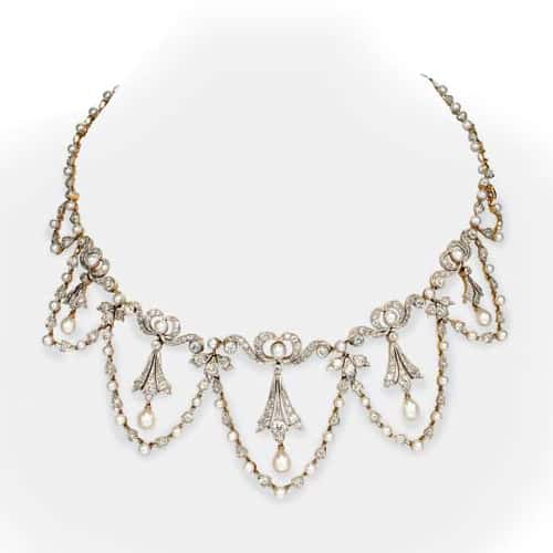 Tiffany Belle Epoque Diamond Pearl Necklace.jpg
