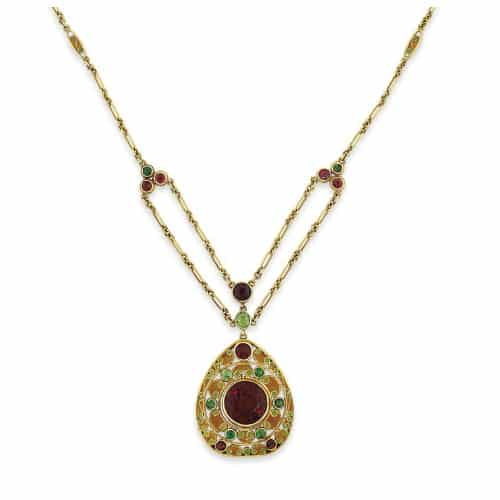 Tiffany Garnet Necklace.jpg
