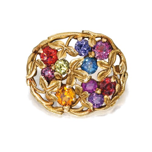 Tiffany Multi Stone Brooch.jpg