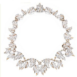 Tiffany & Co., Schlumberger Diamond Necklace.