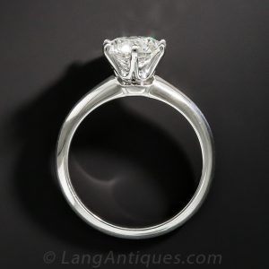 Tiffany Setting for a Diamond Engagement Ring.