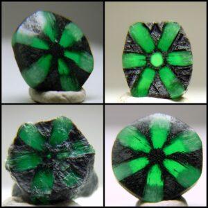 Trapiche Emeralds.