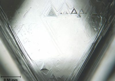 Trigons_on_Natural_Diamond
