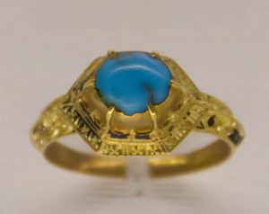Medieval Turquoise Ring.