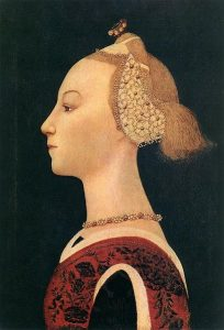 Portrait of a Lady, c.1450.