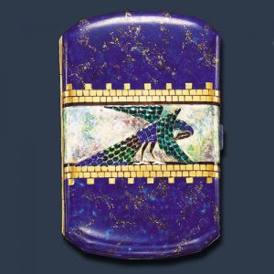 Van Cleef & Arpels Art Deco Enamel Cigarette Case, c.1925. Photo Courtesy of Christie's.