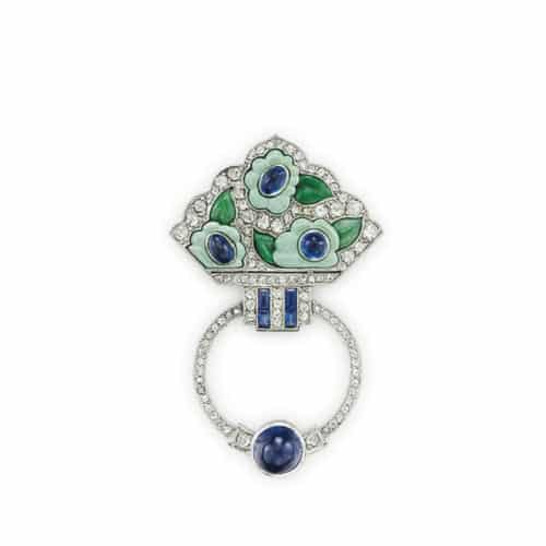 Van-Cleef-Art-Deco-Brooch