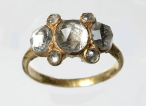 Vauxhall Paste Ring. Circa 17th Century. Photo Courtesy of the Museum of London.