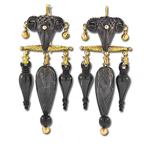 Victorian Archaeological Revival Earrings .jpg