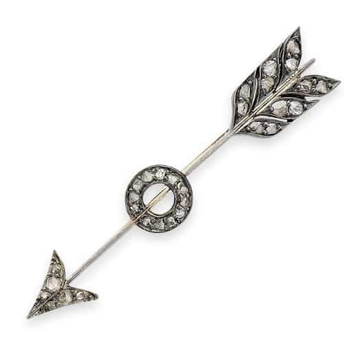 Victorian Arrow and Target Brooch.jpg