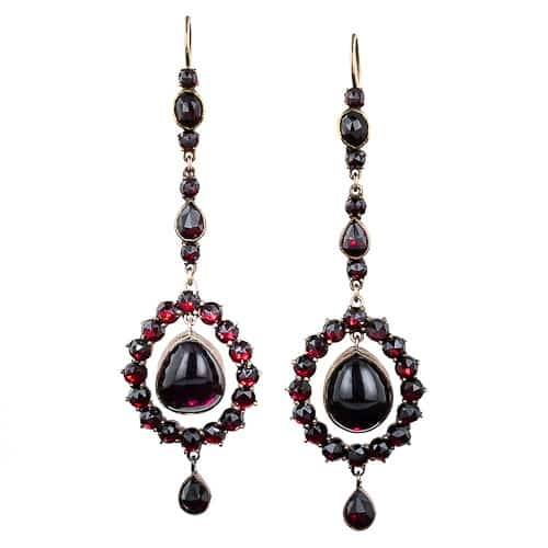 Victorian Bohemian Garnet Earrings.jpg