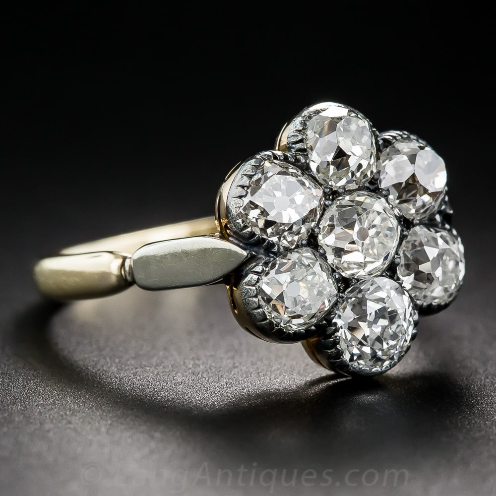 Victorian Diamond Cluster Engagement Ring.jpg