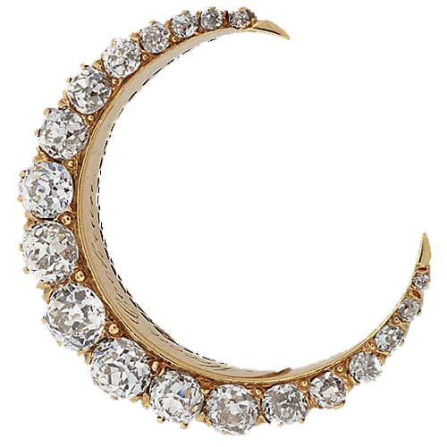 Victorian Diamond Crescent Brooch.jpg