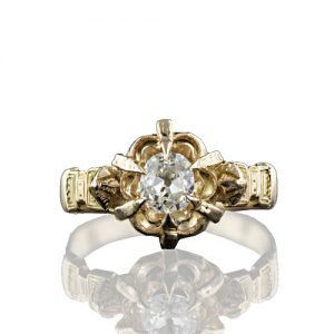Victorian Diamond Solitaire.