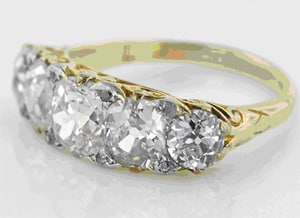 Victorian Five Stone Diamond Ring.jpg
