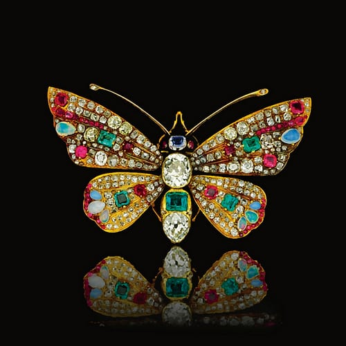 Victorian Gem-set Butterfly Brooch.jpg