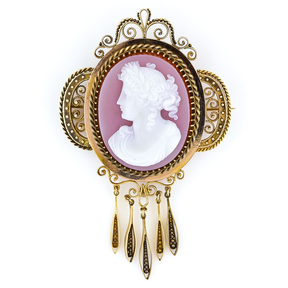 Victorian Hardstone Cameo Brooch and Earring Set2.jpg