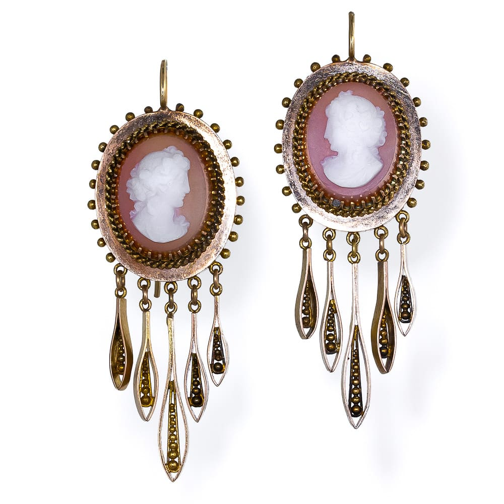 Victorian Hardstone Cameo Brooch and Earring Set3.jpg