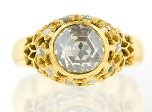 Victorian Rose Cut Diamond Ring.jpg