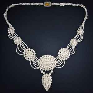 Victorian Seed Pearl Necklace.