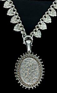 Victorian Silver Locket c.1883.