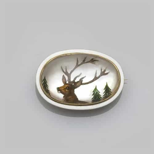 Victorian Stag with Antlers Brooch.jpg
