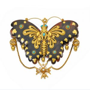 Victorian_Tortoiseshell_Butterfly_Brooch