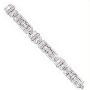 Waslikoff Art Deco Bracelet