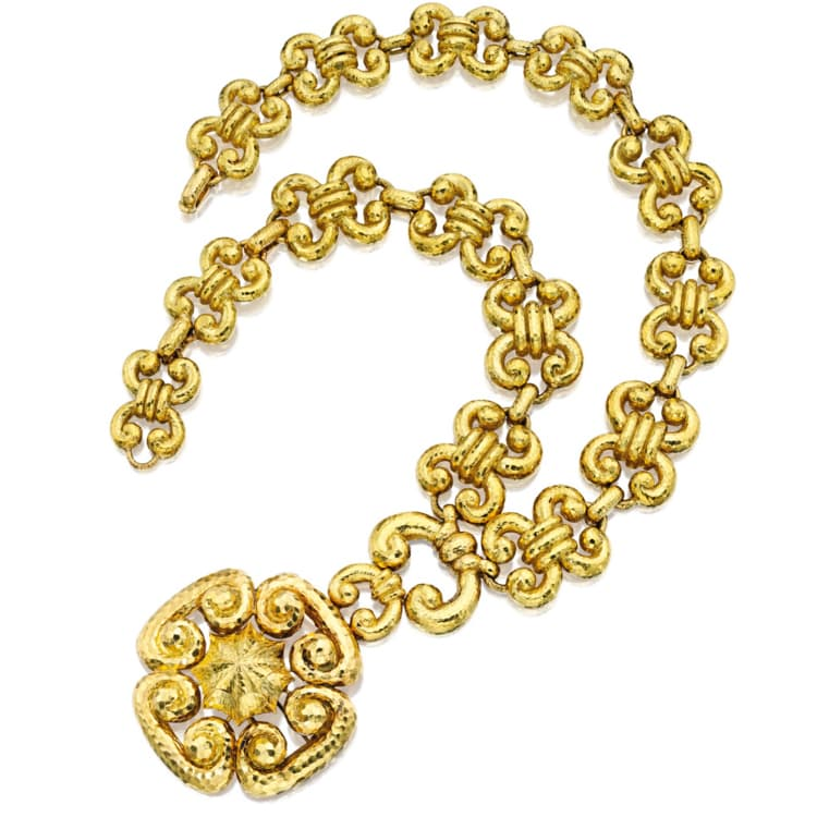 Webb Hammered Gold Necklace.jpg