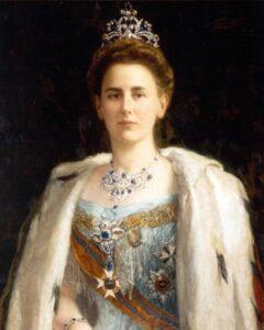Portrait of Queen Wilhelmina (1898)