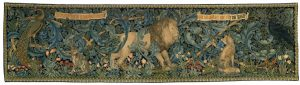 The Forest Tapestry by William Morris c. 1888.