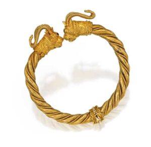 Zolotas Gold Bracelet. Photo Courtesy of Sotheby's