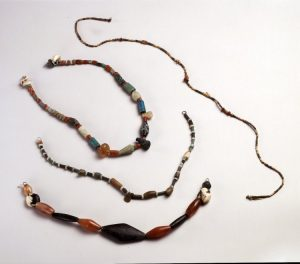 4th Dynasty Bead Collection c.2613-2494 BC.