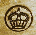 The German Crown in a Sun Hallmark. Image Courtesy of the Hallmark Research Institute.
