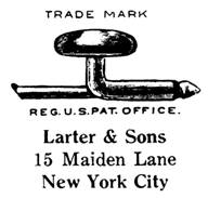 Larter & Sons Maker's Mark
