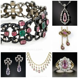 Pink Topaz Jewelry Collection.