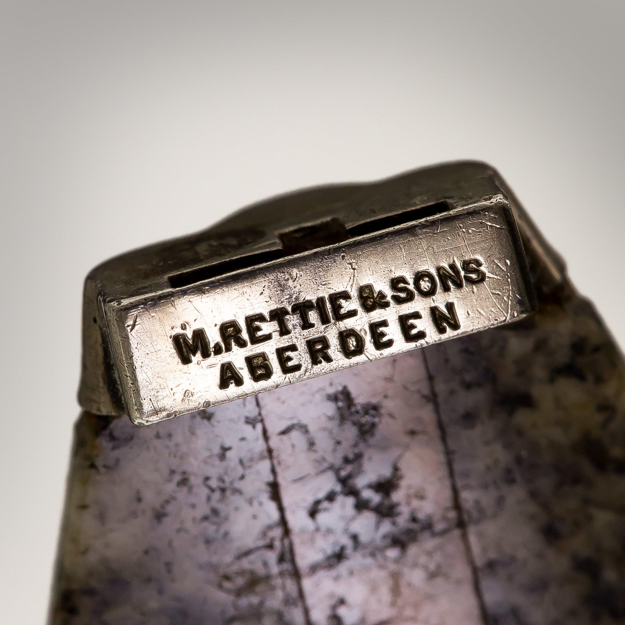 Maker's Mark for Aberdeen Jewelers, M. Rettie & Sons.
