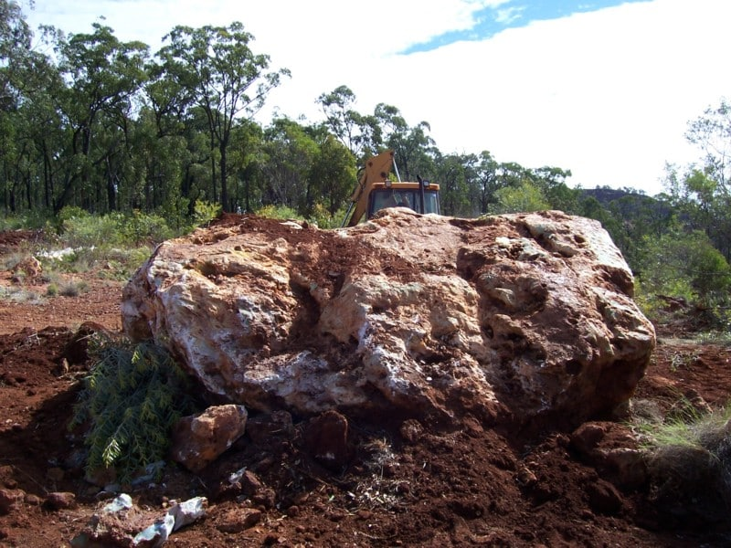 16 t boulder-at excavation.JPG